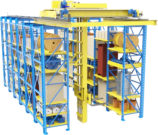 Storage Rack for Warehouse