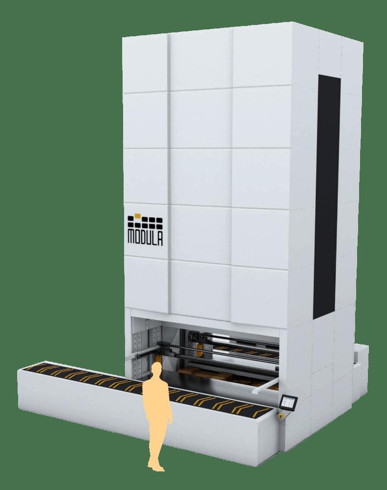 Vertical storage unit